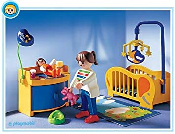 lit bebe playmobil