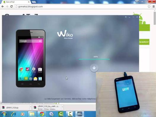 logiciel pour wiko