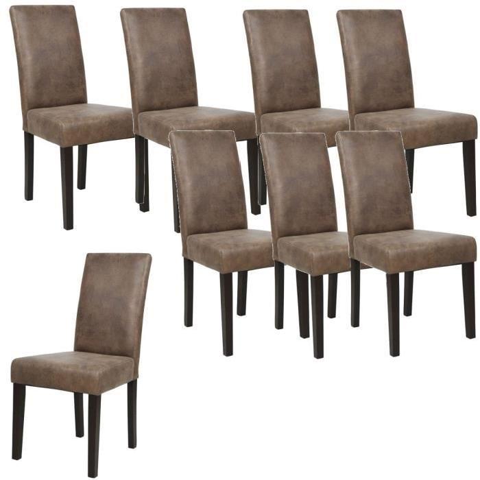 lot 8 chaises salle manger