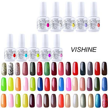 lot vernis semi permanent