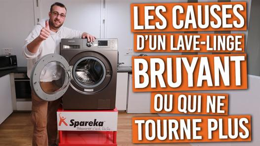 machine à laver ne tourne plus