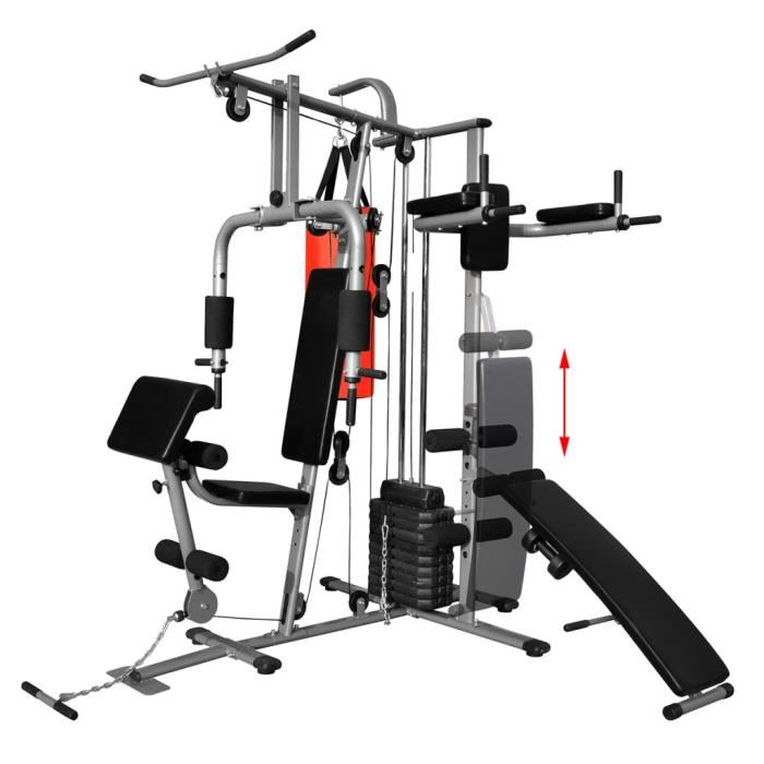 machine musculation multifonction
