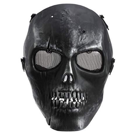masque squelette airsoft