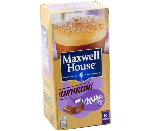 maxwell house cappuccino milka