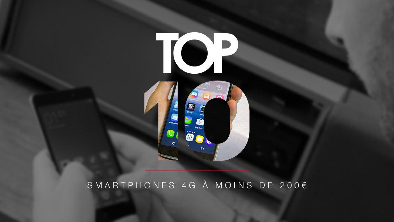 meilleur smartphone moins de 200 euros