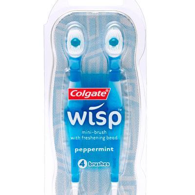 mini brosse a dent jetable