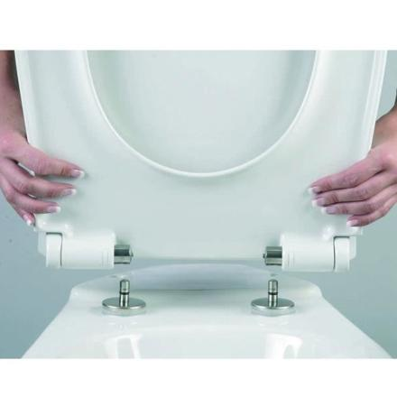 montage abattant wc avec frein de chute