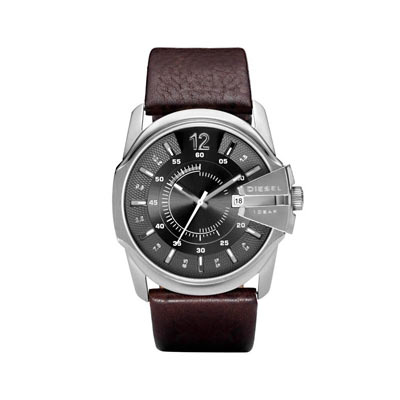 montre diesel bracelet cuir