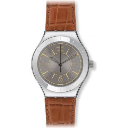 montre swatch bracelet cuir
