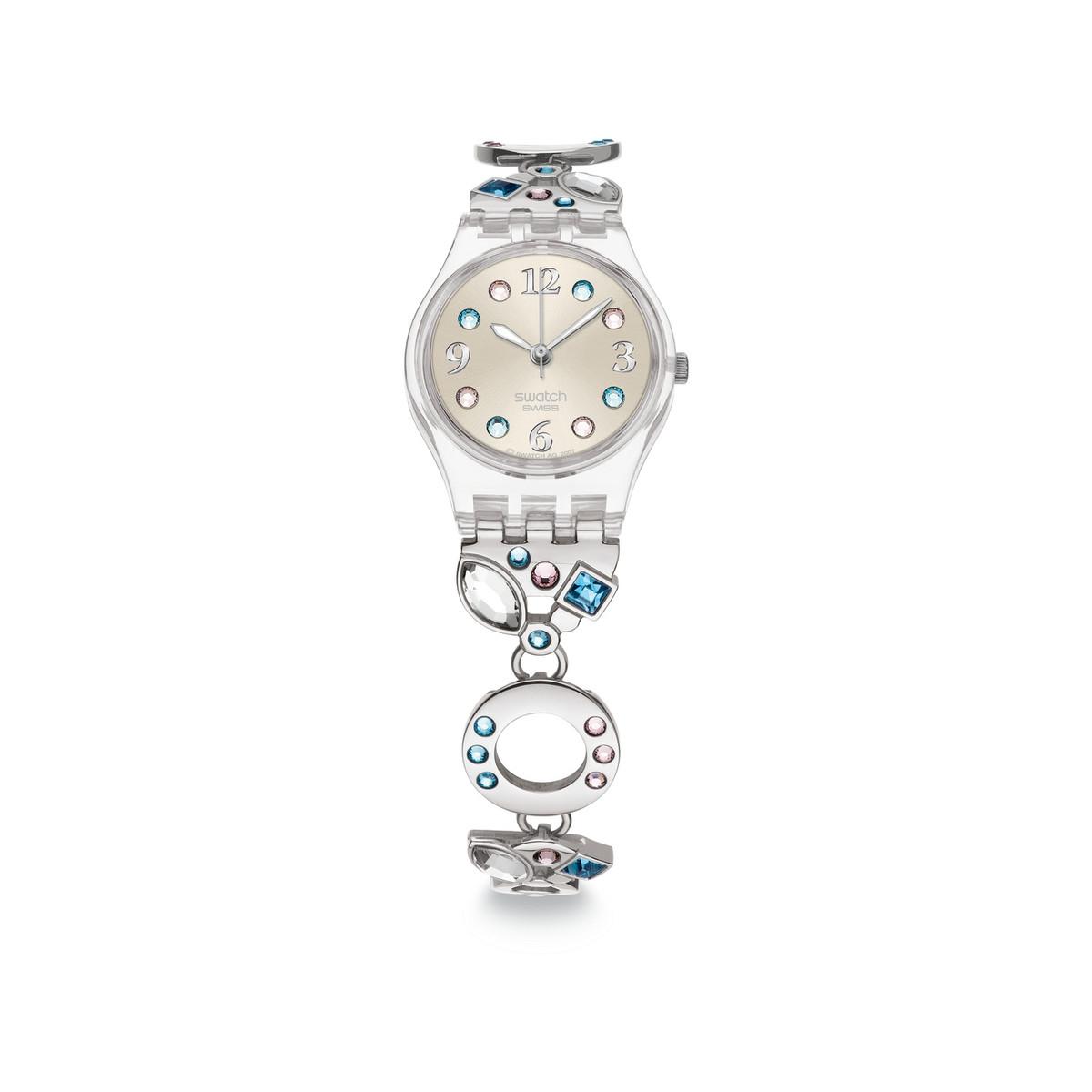 montre swatch femme bracelet acier
