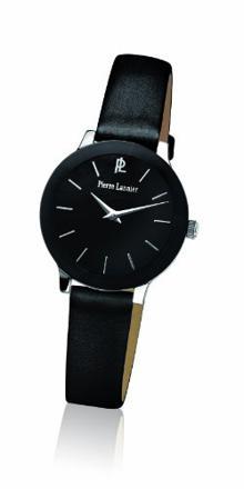 montres femmes bracelet cuir noir