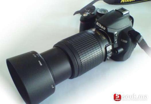 objectif pour nikon d3000