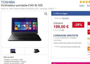 ordinateur portable moins de 200 euros
