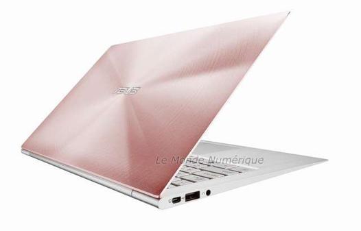 ordinateur portable rose gold