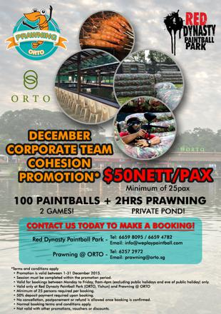 paintball promotion