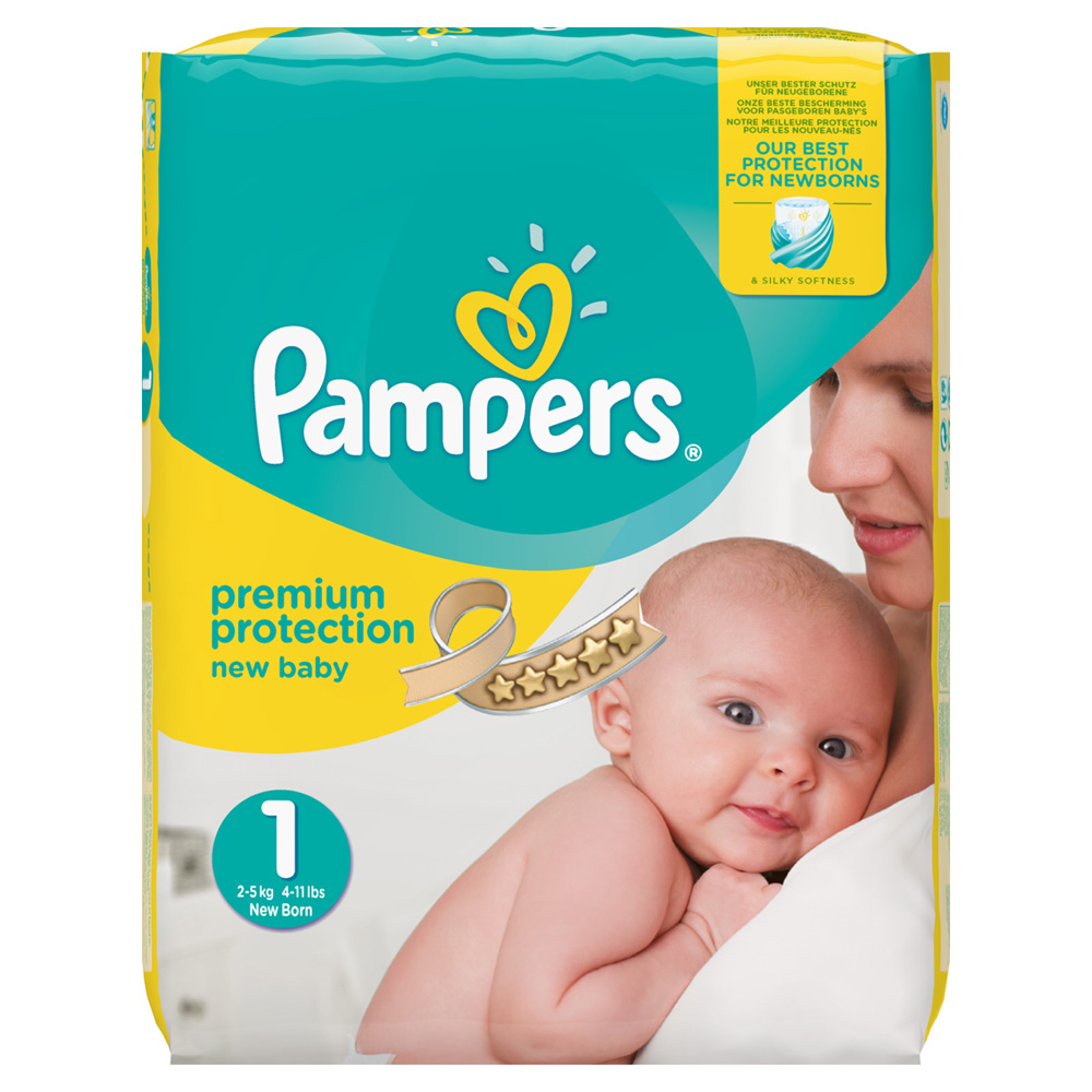 pampers premium protection taille 1