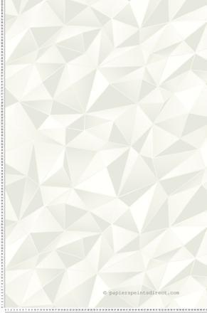 papier peint 3d blanc