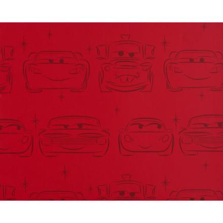 papier peint cars rouge