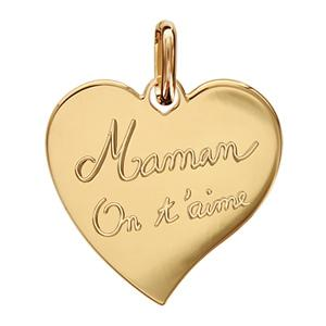 pendentif maman on t aime