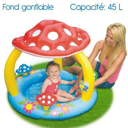 piscine gonflable champignon