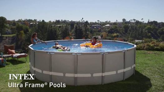 piscine hors sol tubulaire intex ultra frame