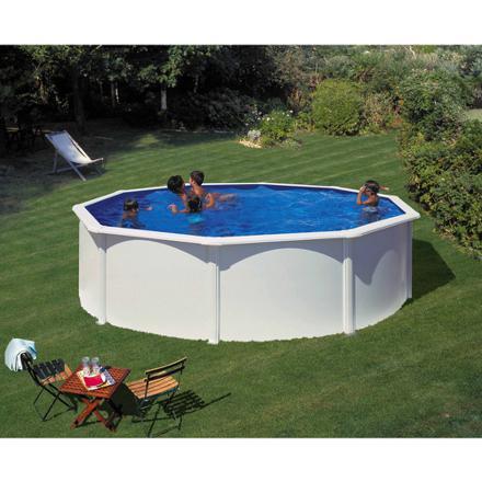 piscine ronde acier