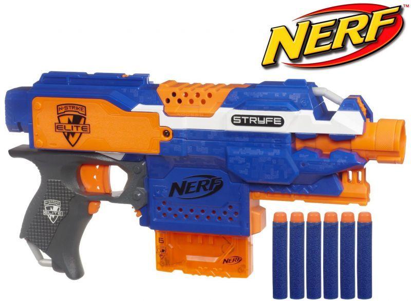 pistolet nerf avec chargeur