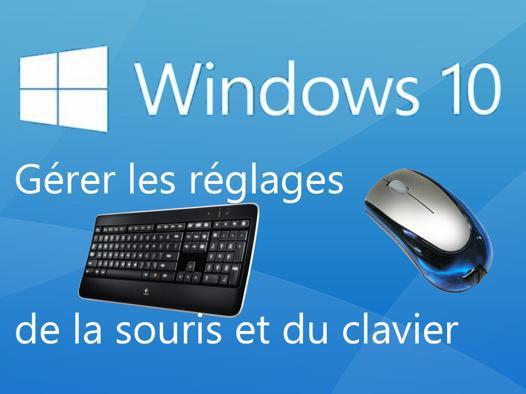 plus de souris sur pc portable windows 10