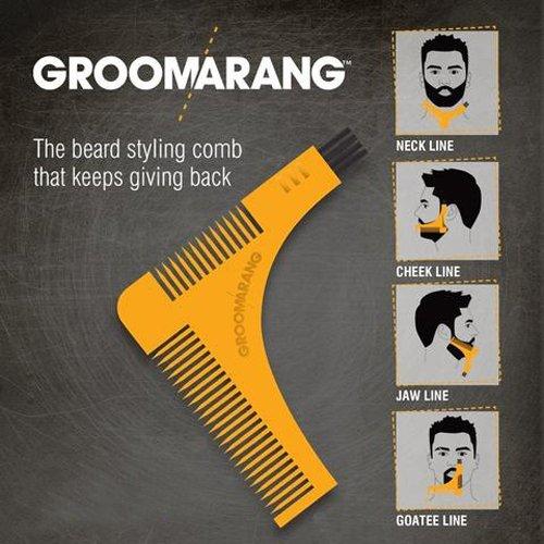 pochoir a barbe