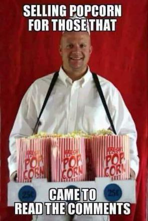 pop corn commentaire