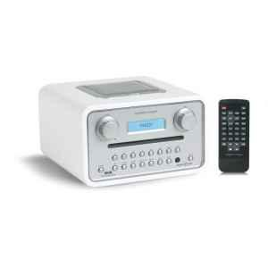 poste radio blanc