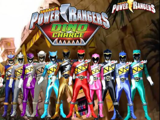 power rangers charge