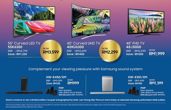 promotions tv samsung