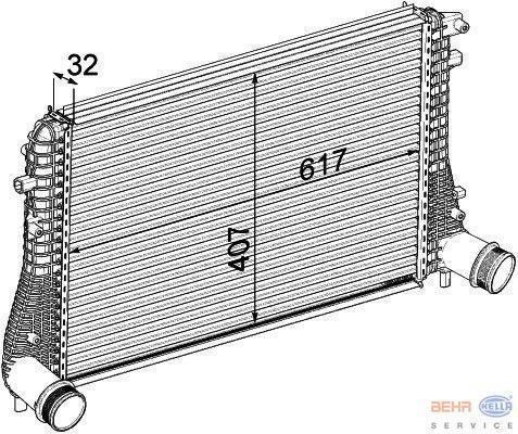 radiateur golf 5