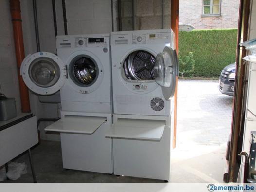 rehausseur machine à laver
