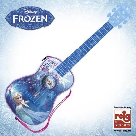reine des neiges guitare electrique
