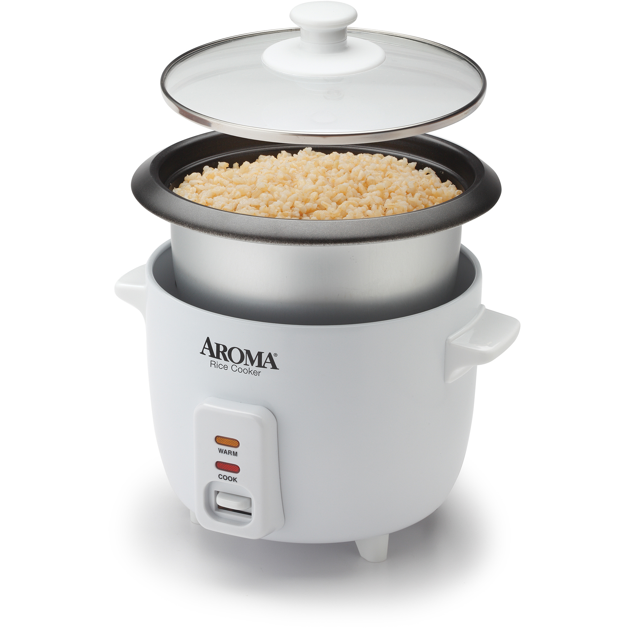 rice in cooker