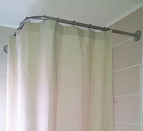 rideau pour douche d angle