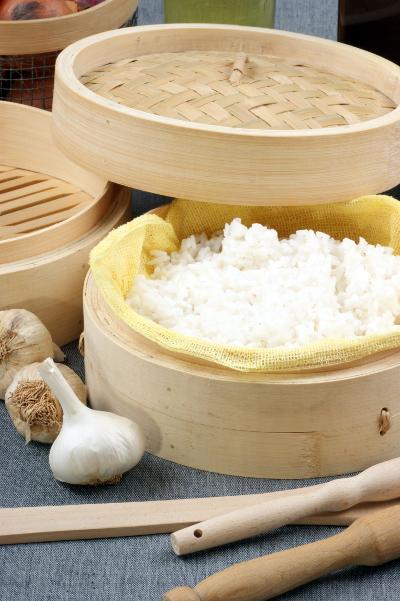 riz vapeur