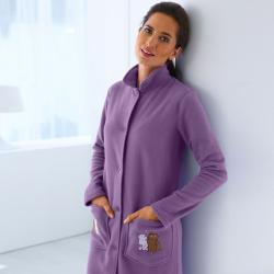 robe de chambre femme avec boutons