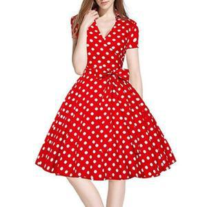 robe pin up année 50 pas cher