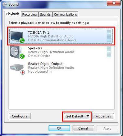 sortie hdmi windows 10