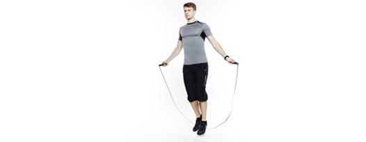 sport avec la corde a sauter