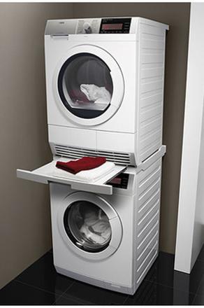 support pour machine à laver et sèche linge