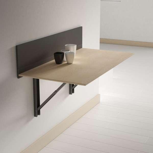 table escamotable murale