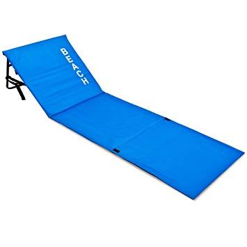 tapis de plage avec dossier