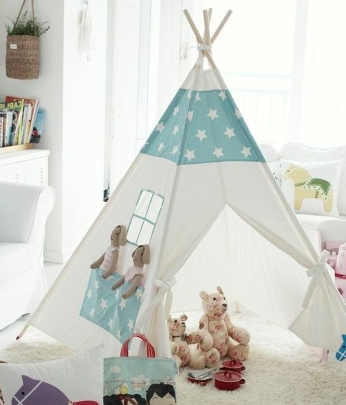 tente intérieur enfant