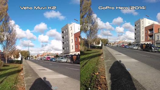 test gopro hero+