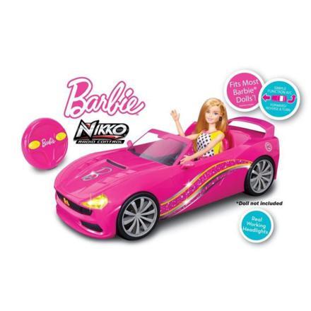 voiture barbie télécommandée