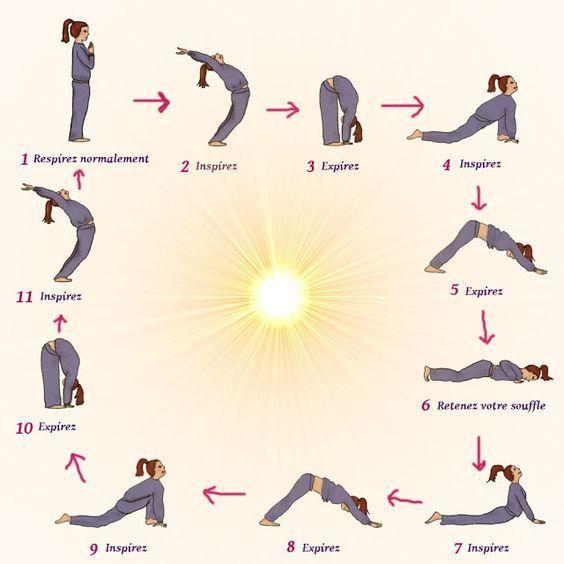 yoga exercices